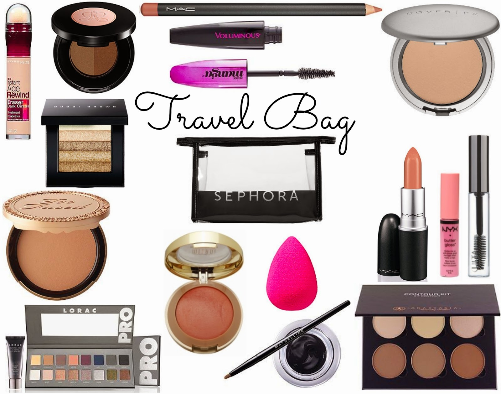 my travel beauty must haves hello gorgeous by angela lanter - Makeup Must Haves