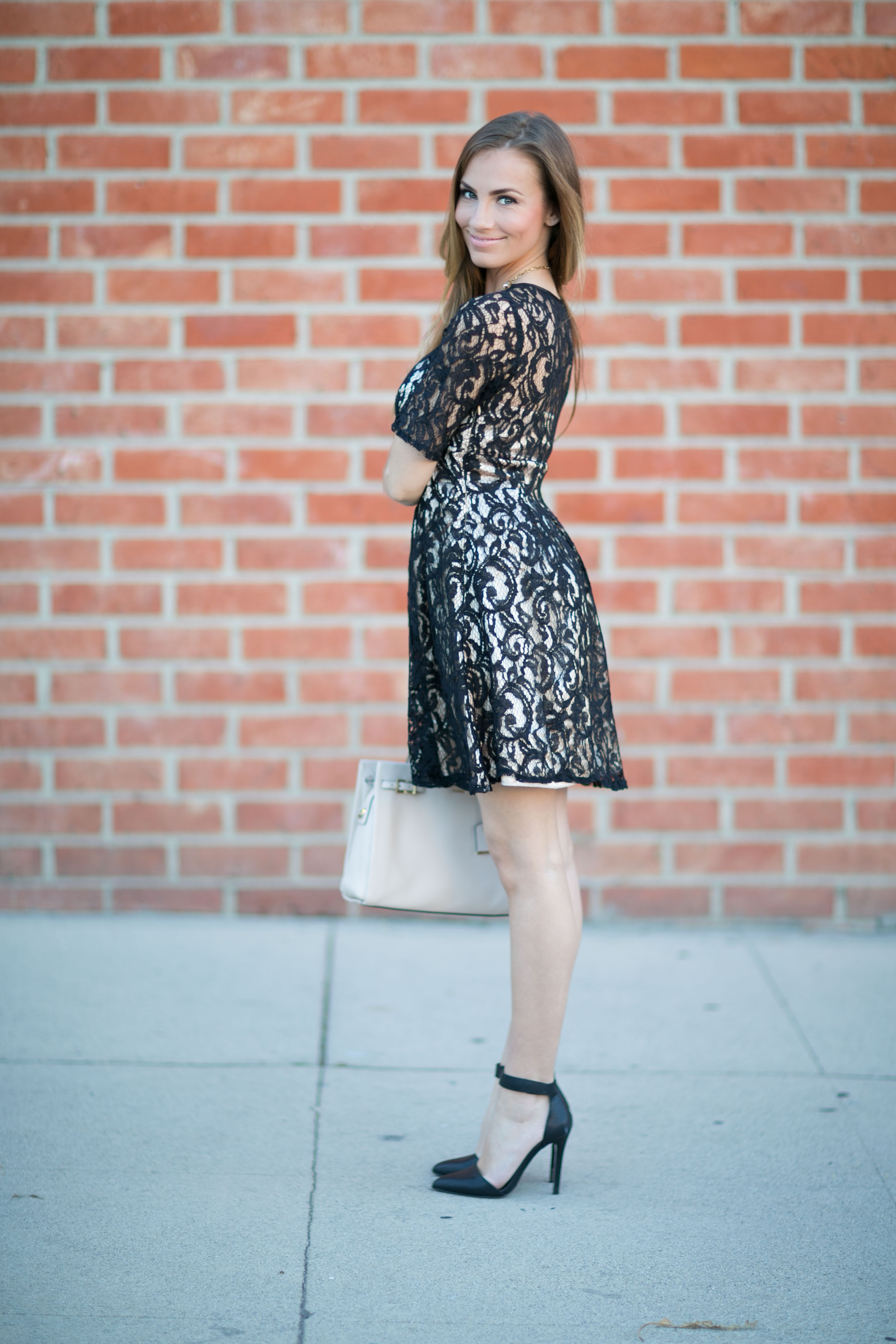 Valentine's Day date night dress angela lanter Hello Gorgeous