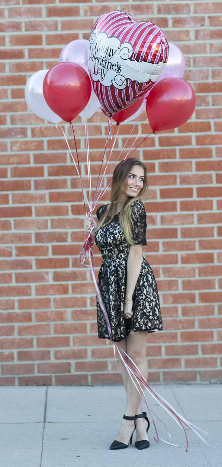 Angela Lanter Outfit for Valentine's Day - Hello Gorgeous