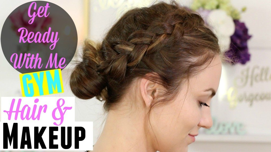 VIDEO: Get Ready With Me – Gym Hair & Makeup