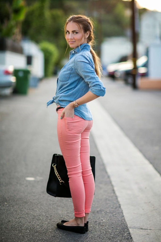 Styling Pastel Jeans for Spring with YMI // Part 2