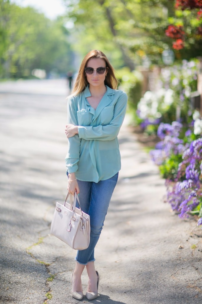 Mint Green for Spring