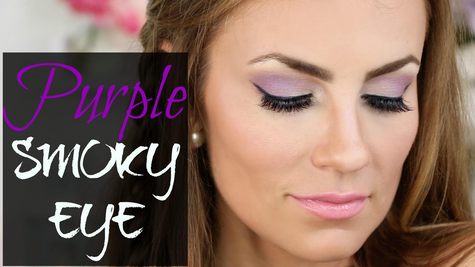 Video Purple Smoky Eye Tutorial Hello Gorgeous By
