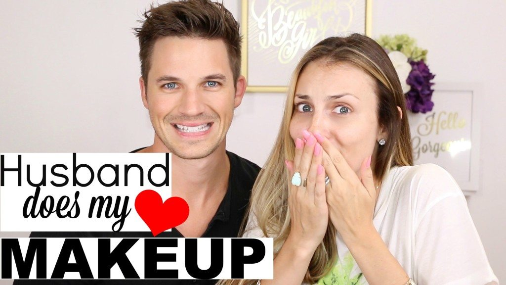VIDEO: Husband Does My Makeup!!