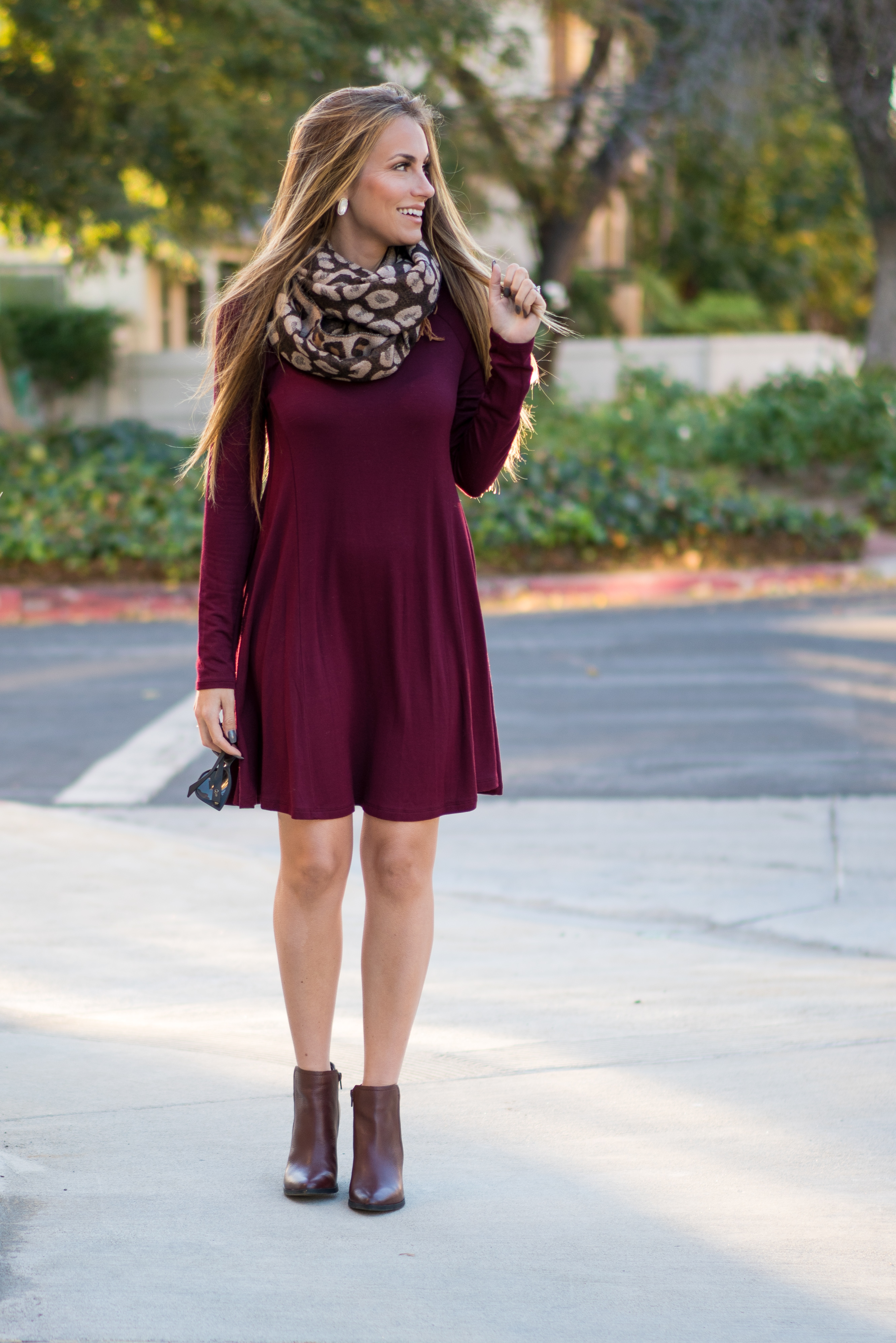 Burgundy Boots Hello Gorgeous By Angela Lanter