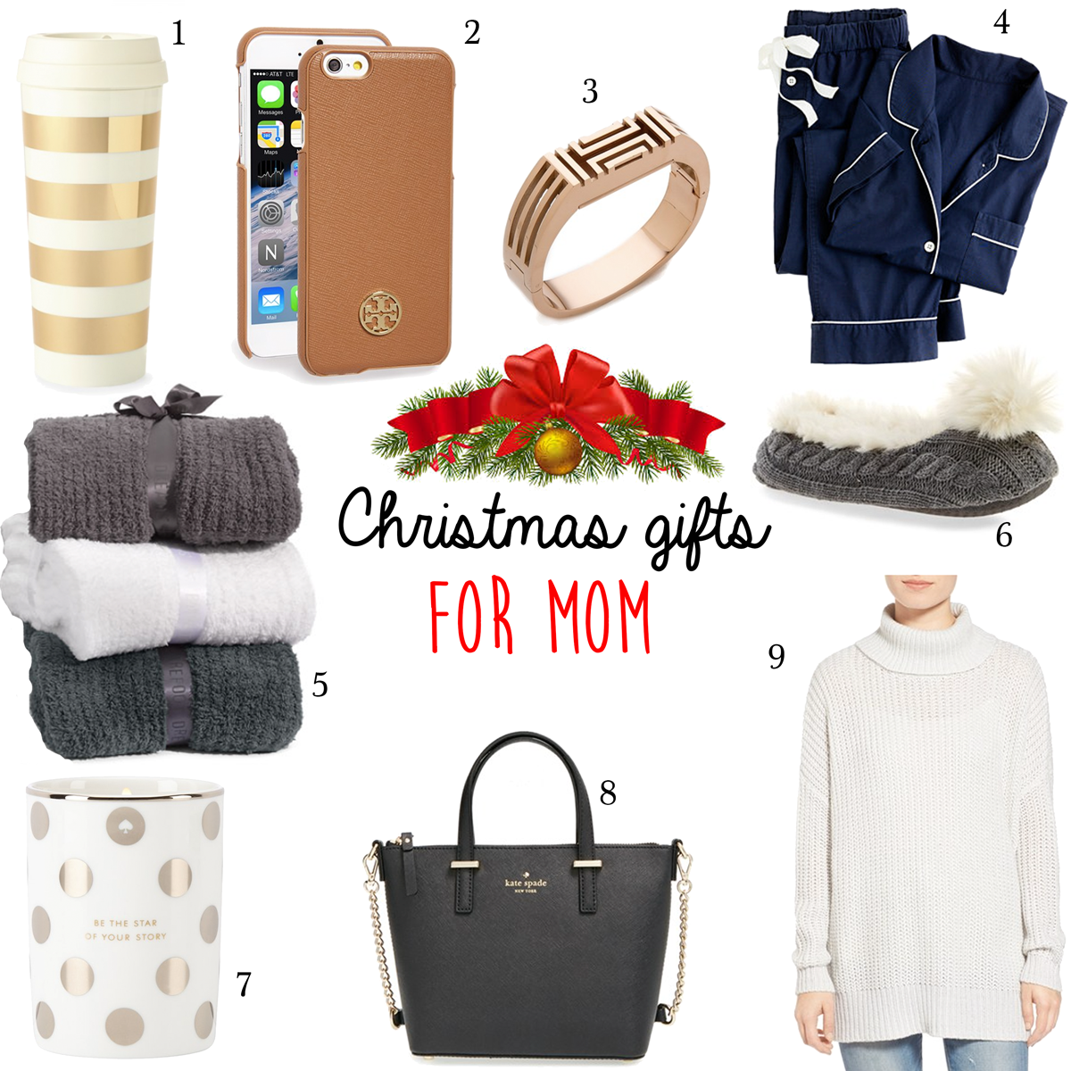 Christmas Gift Guide for your Mom