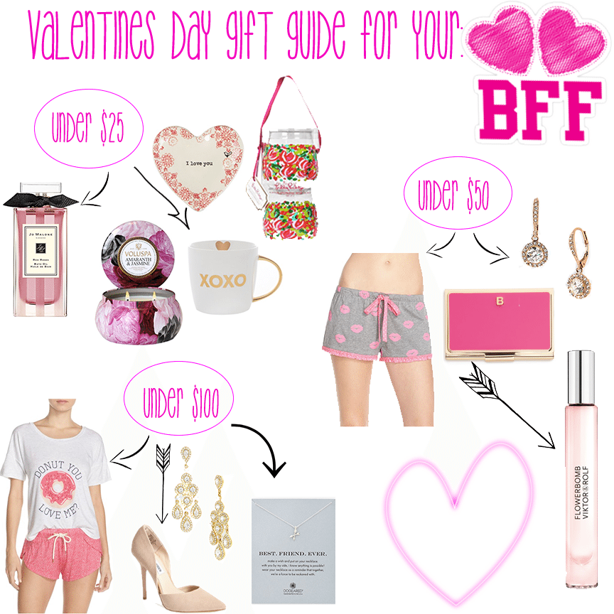 Valentines gift guide.