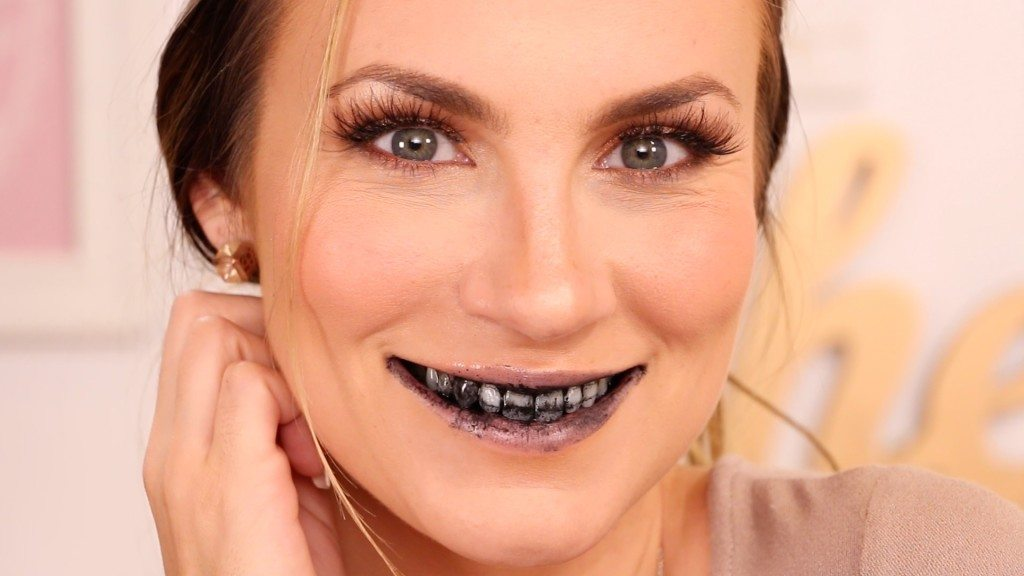 Charcoal Teeth Whitening Hack