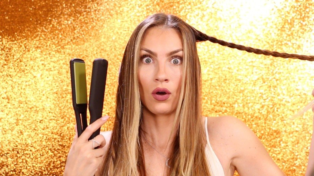 Flat Iron Braid Hack Video
