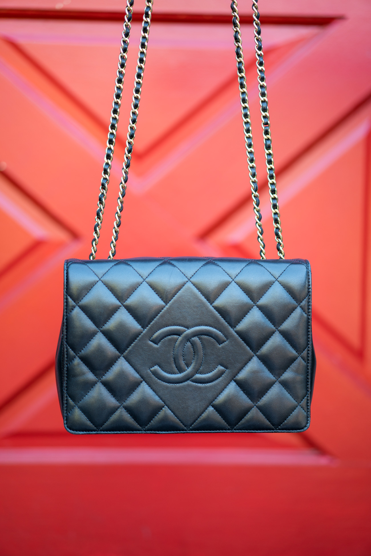 Chanel Diamond CC Flap Bag Angela Lanter Hello Gorgeous