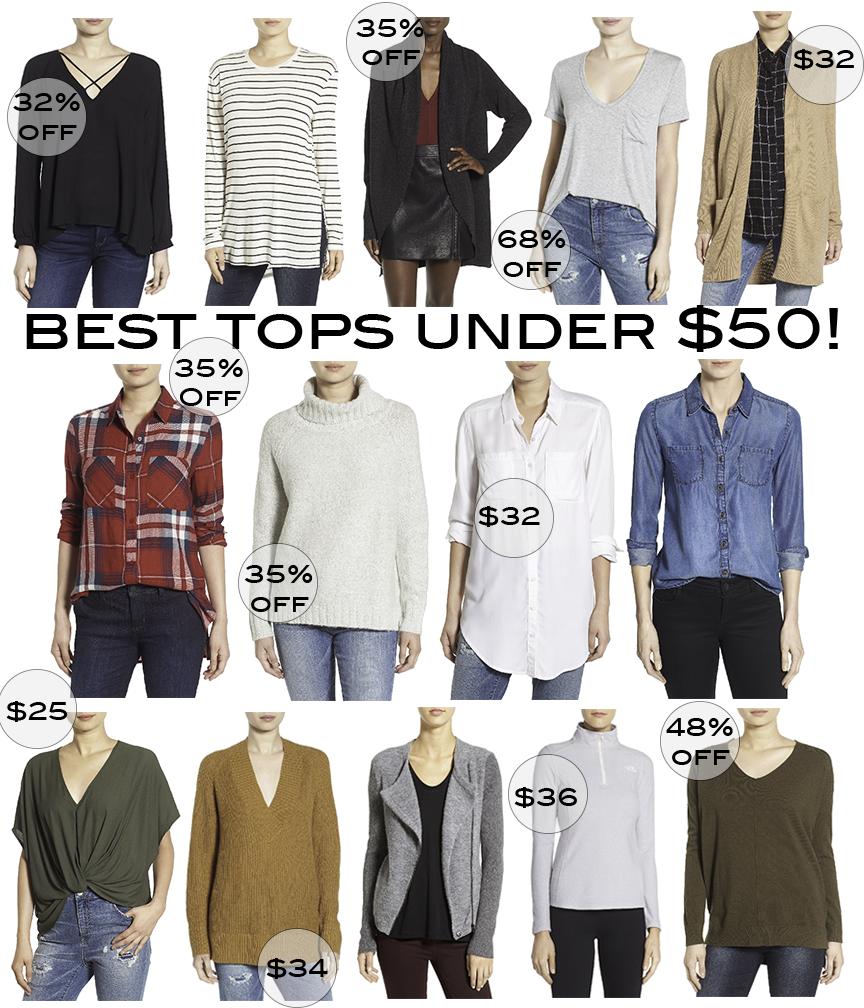 Nordstrom anniversary sale best tops shirts under $50 angela lanter hello gorgeous