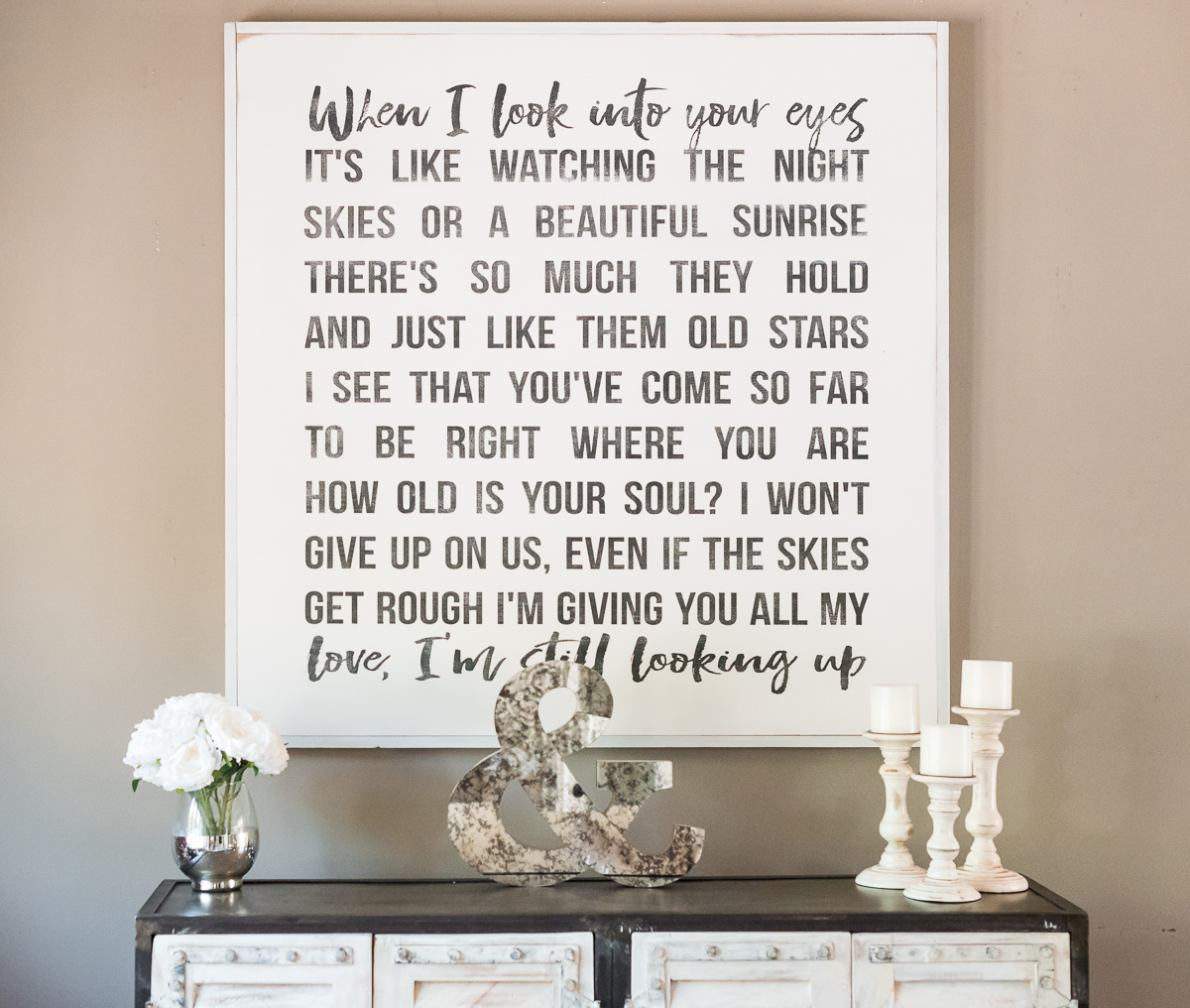 """I Won't Give Up"" Jason Mraz wedding song artwork etsy angela lanter home decor living room hello gorgeous"