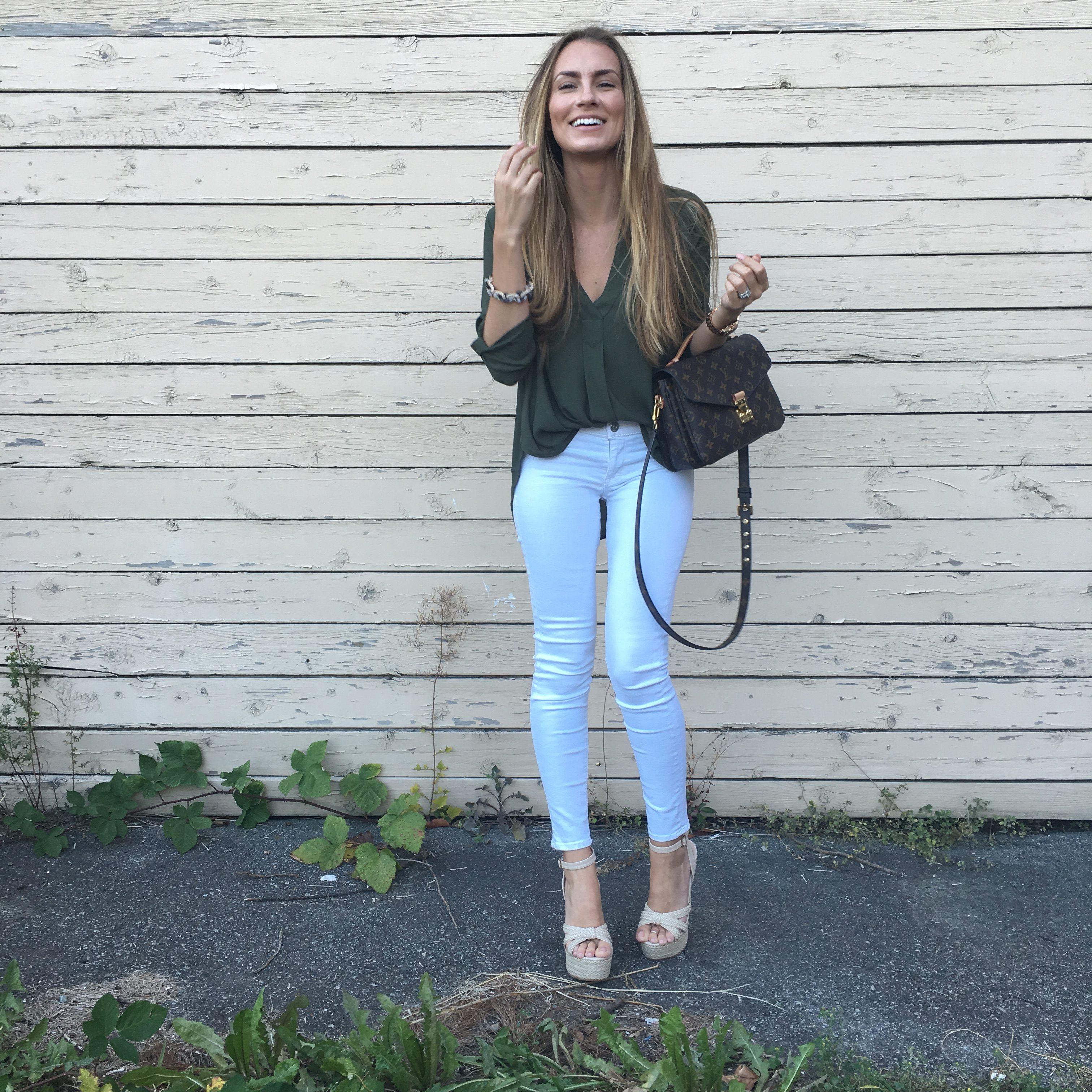 lush shirt hudson white jeans hello gorgeous angela lanter ootd