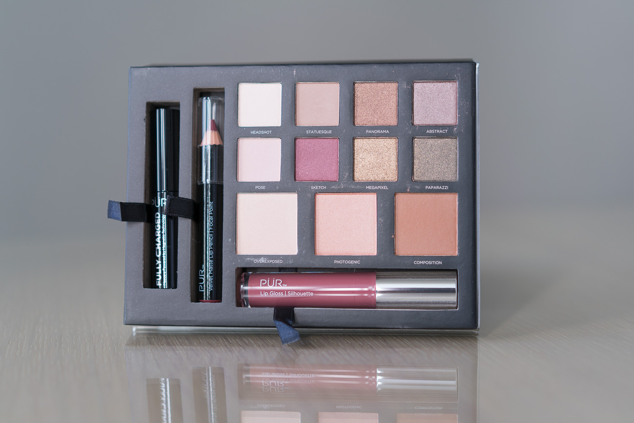PUR Cosmetics palette 5 fall beauty tips angela lanter hello gorgeous