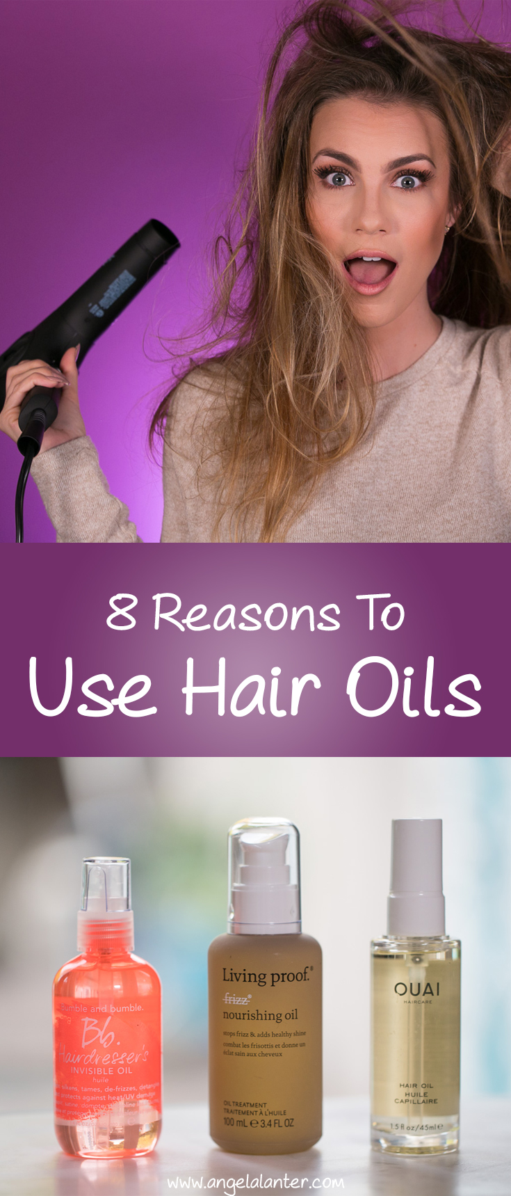 8 Reasons to Use Hair Oils