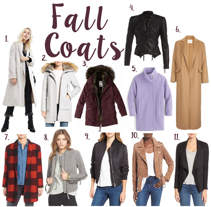 best coats and jackets for Fall and Winter 2016 angela lanter hello gorgeous nordstrom