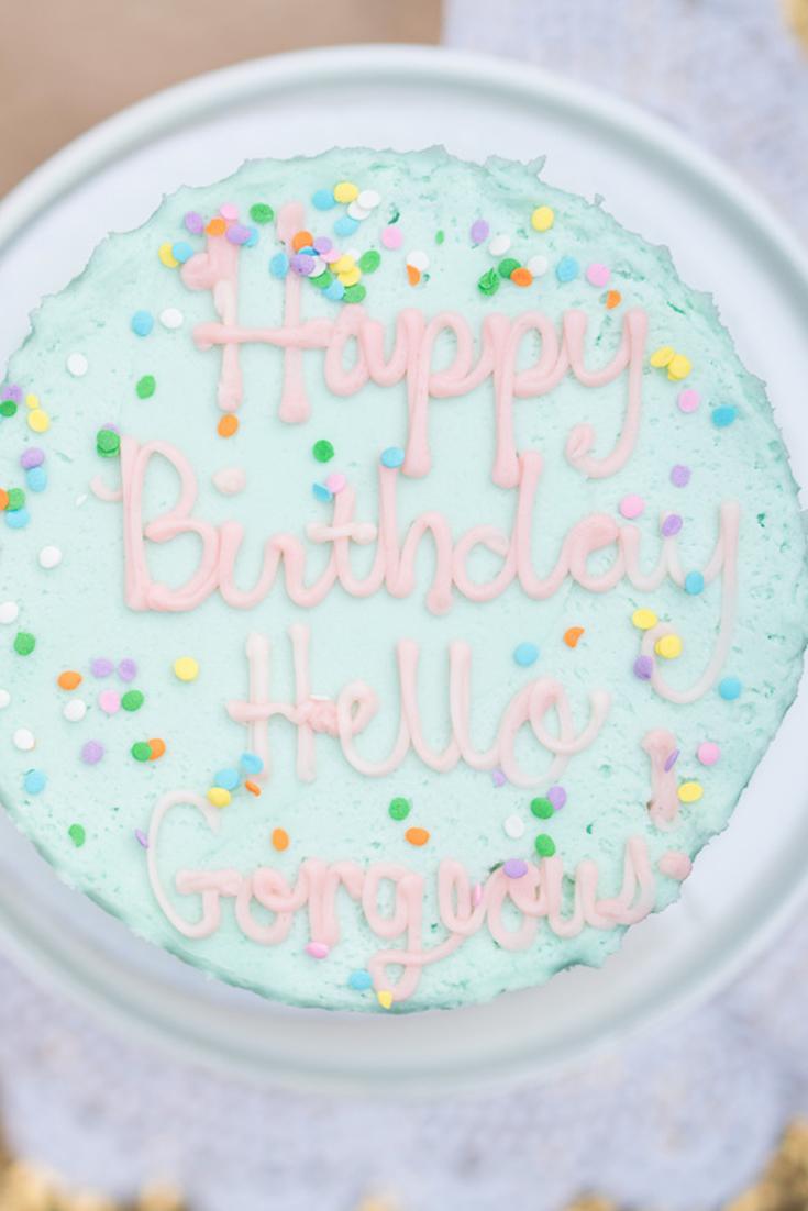 Happy Birthday - Hello Gorgeous by Angela Lanter