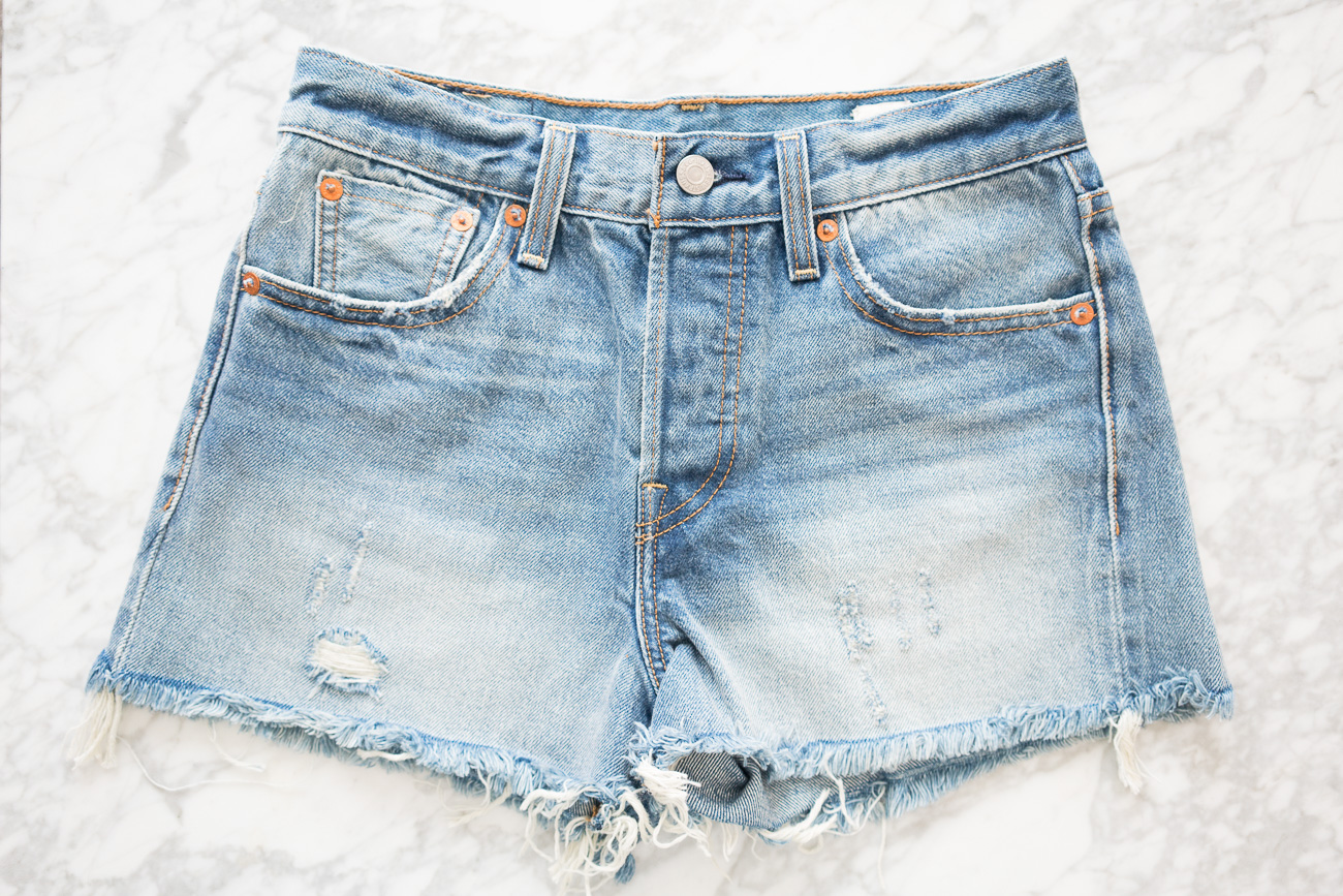 Levi's Wedgie Denim Shorts ShopBop Sale April 2017 Angela Lanter Hello Gorgeous