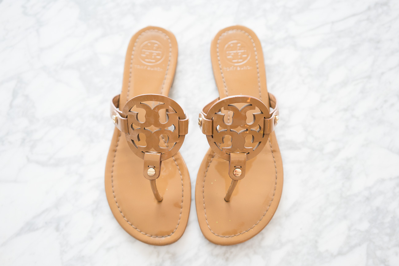 Tory Burch Miller Sandals ShopBop Sale April 2017 Angela Lanter Hello Gorgeous