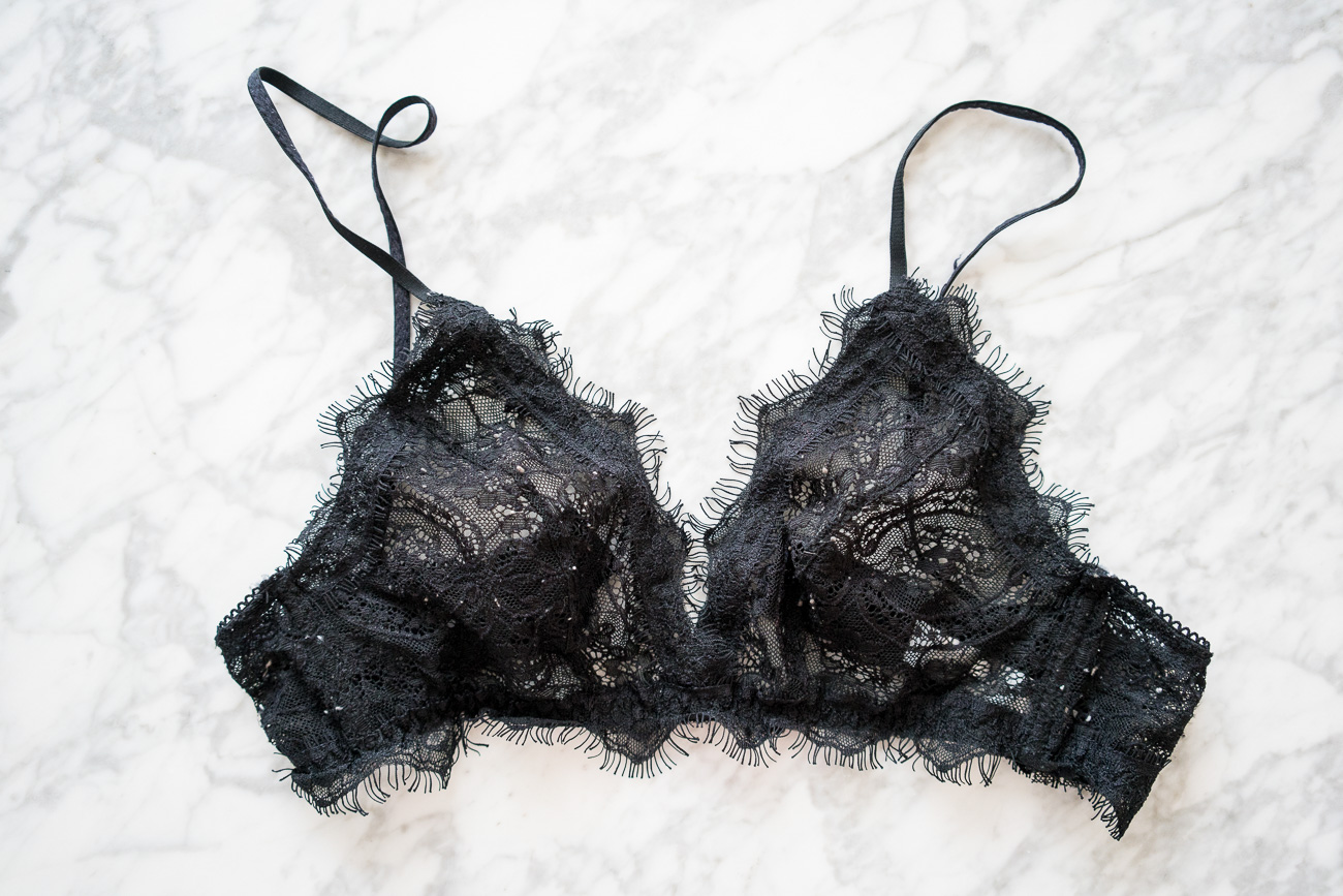 Anine Bing Lace Bra ShopBop Sale April 2017 Angela Lanter Hello Gorgeous