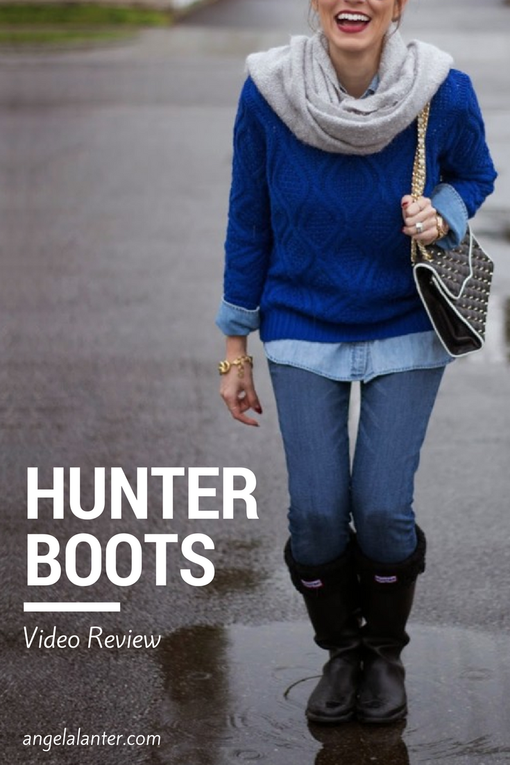Hunter Boots, video review by Angela Lanter