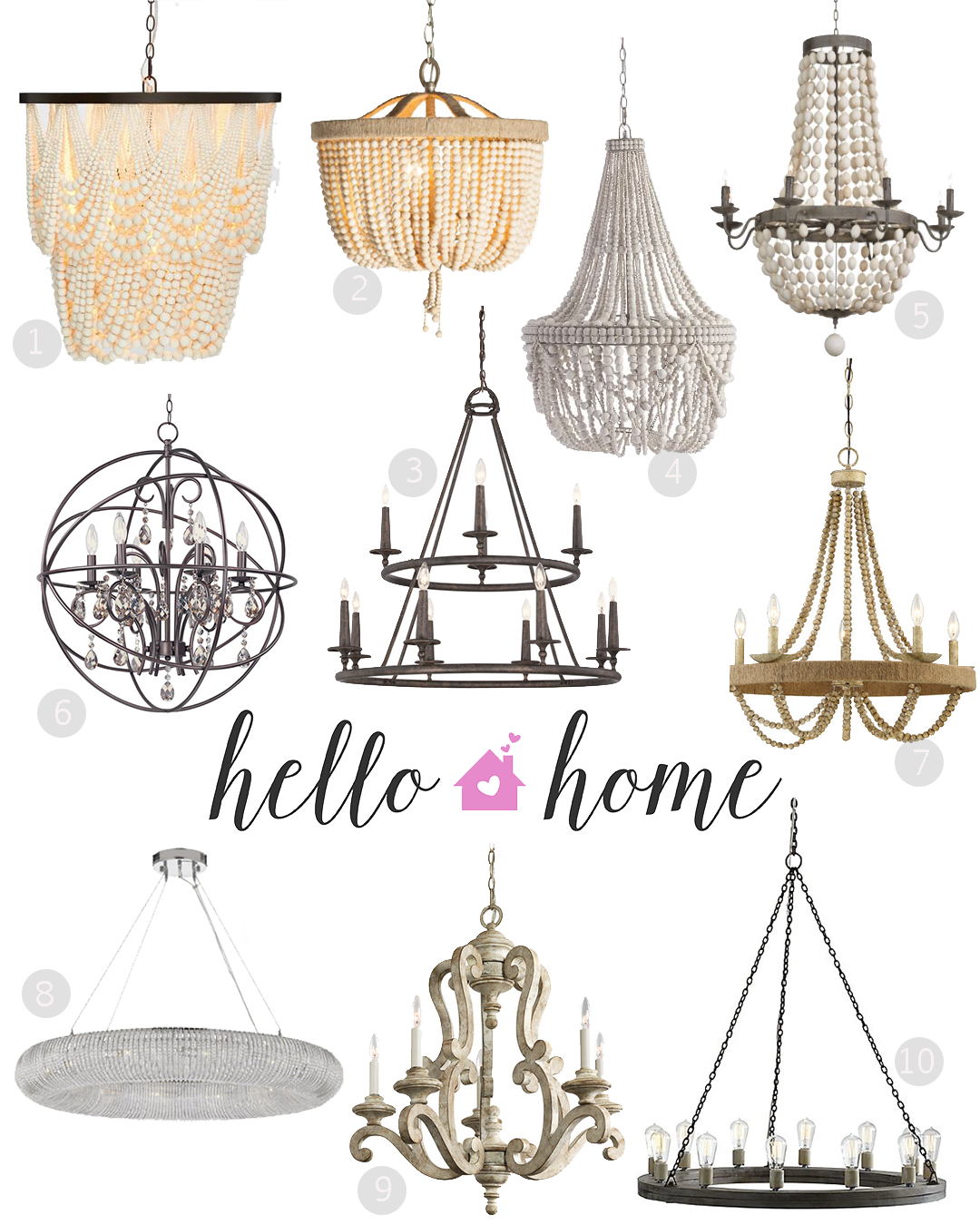 Hello Home Chandelier Light Fixtures Angela Lanter Hello Gorgeous