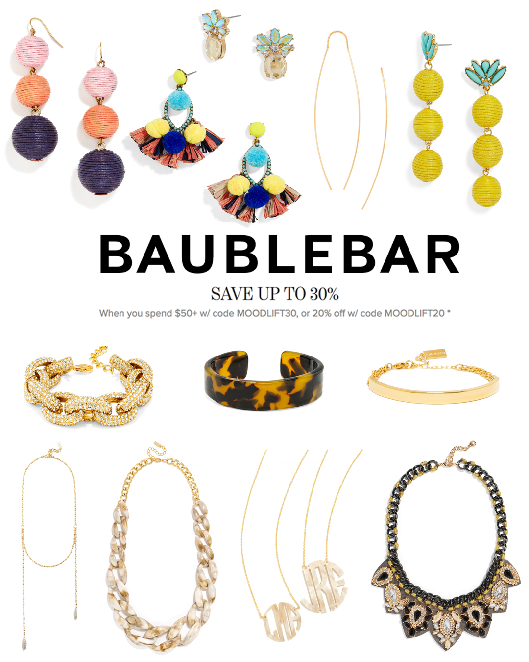 Baublebar Sale Collage Angela Lanter Hello Gorgeous
