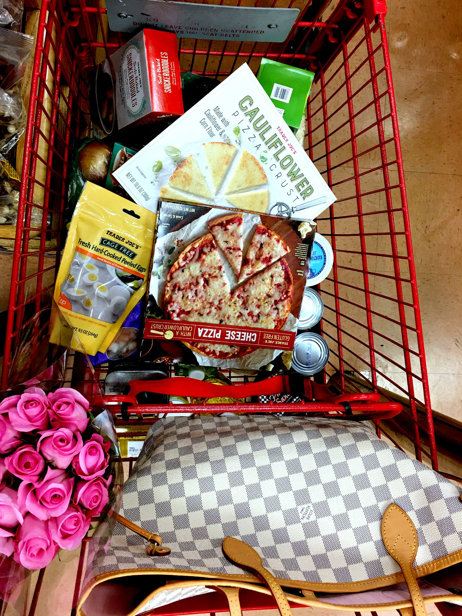 Trader Joe's Shopping Cart Angela Lanter Hello Gorgeous