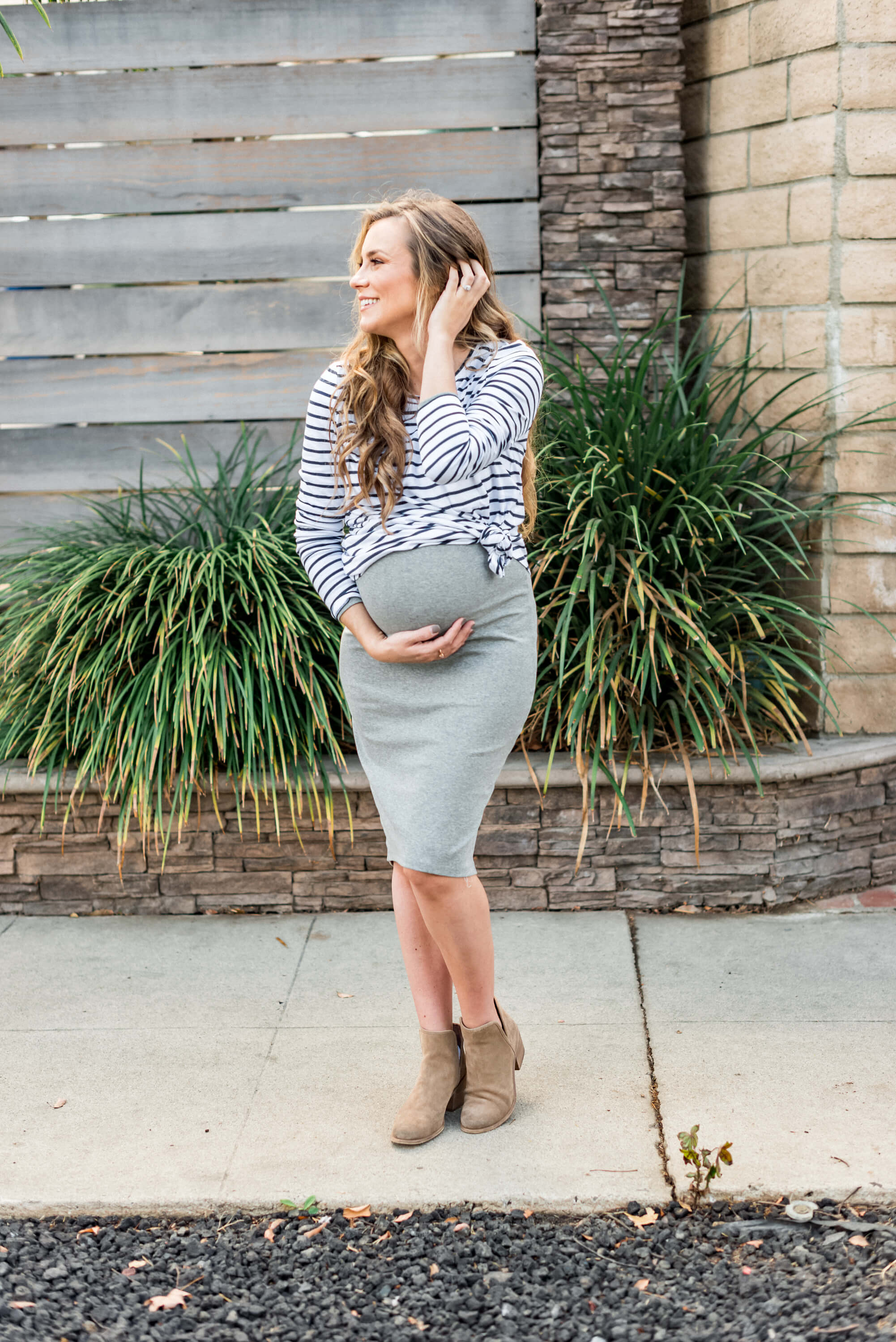 How to Dress While Pregnant Angela Lanter Hello Gorgeous