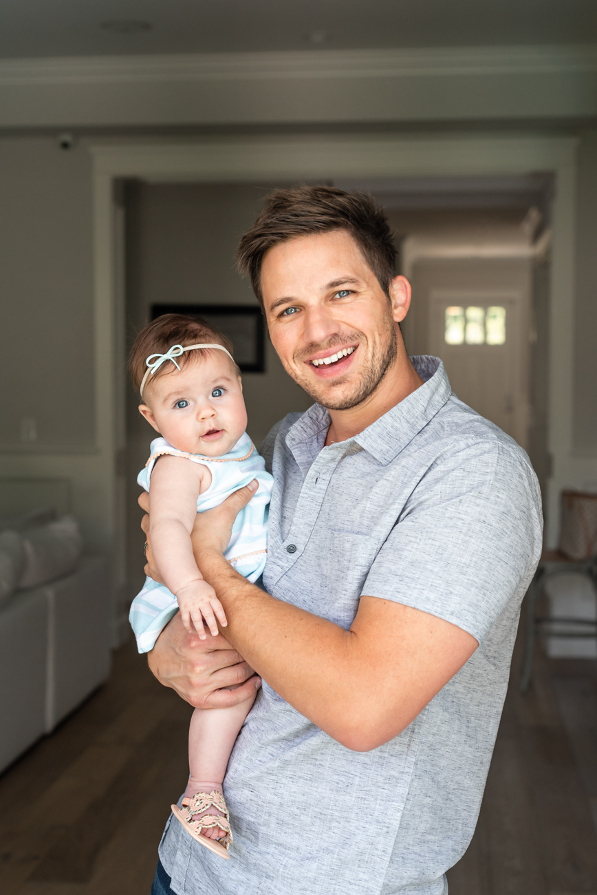 first father's day matt lanter angela lanter hello gorgeous