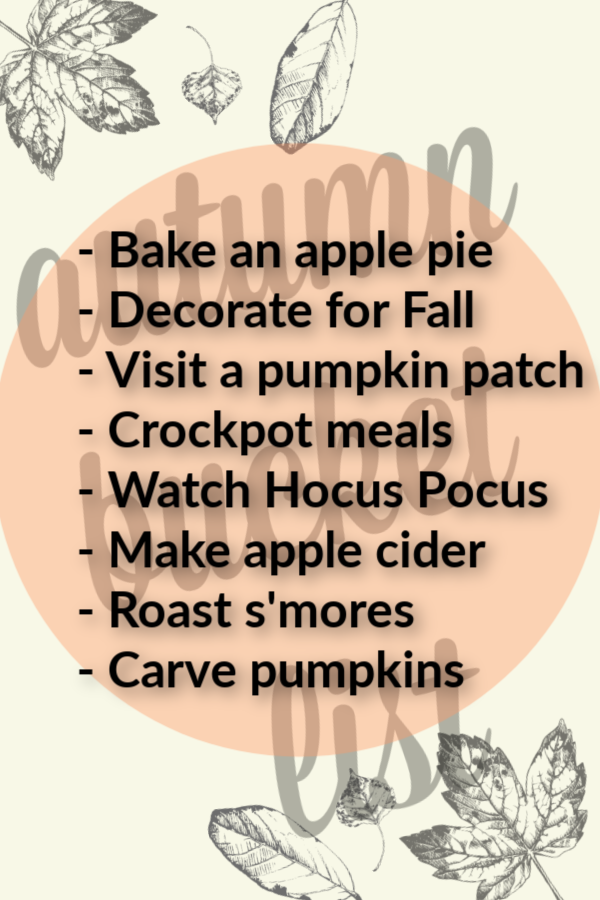 GTT: My October Bucket List