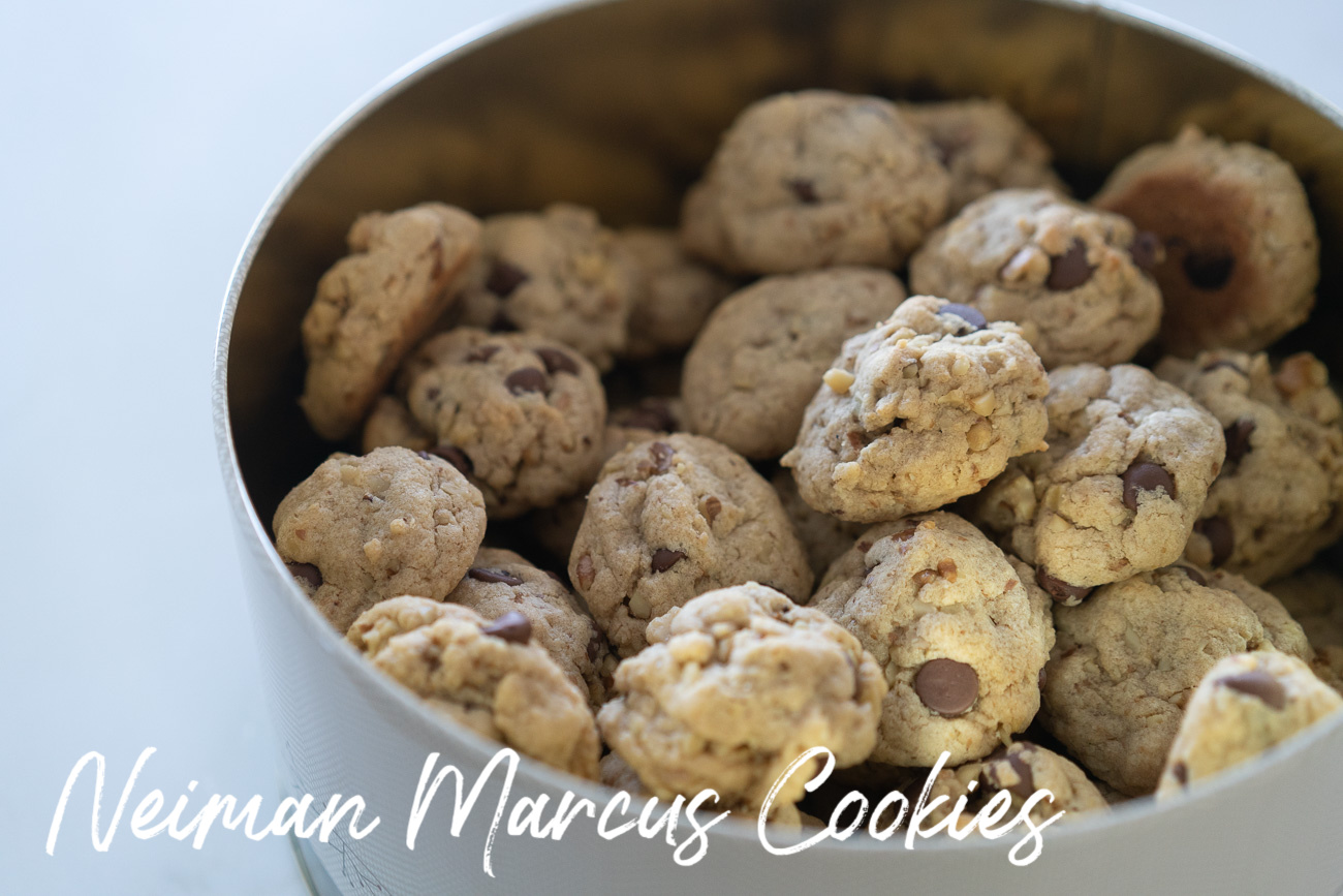 Neiman Marcus Christmas Cookies Recipe