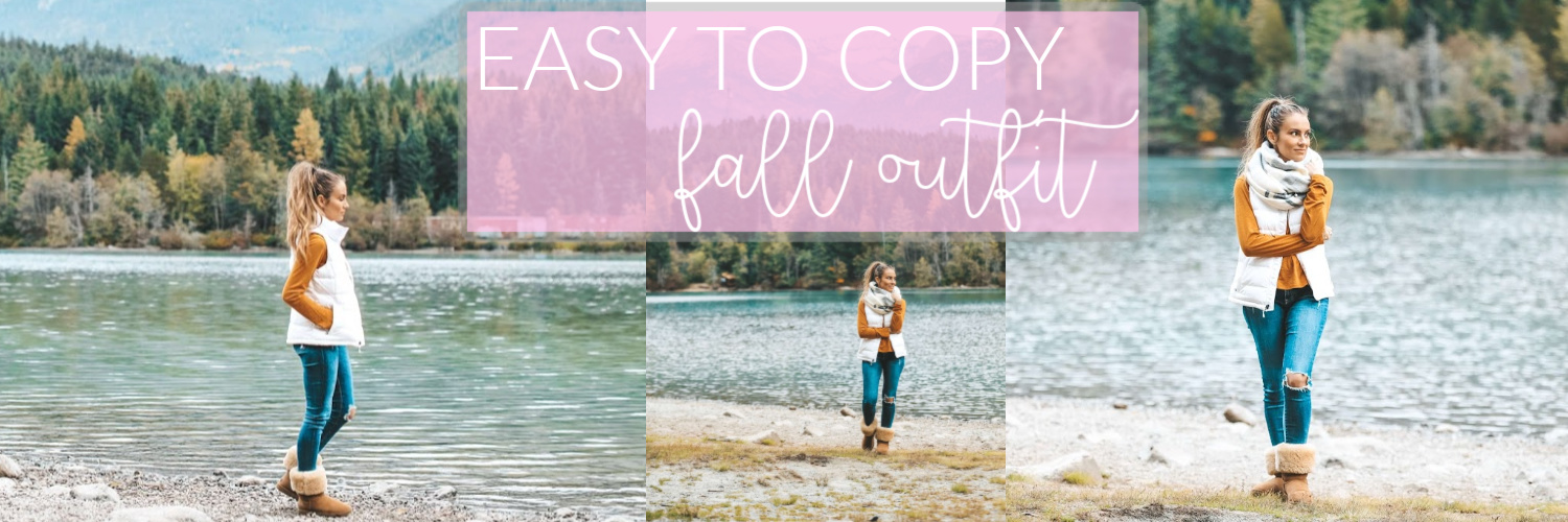 Easy to Copy Comfy Fall Outfit