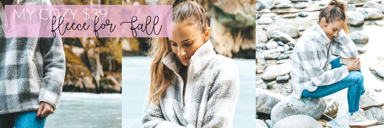 My Cozy $39 Fleece for Fall