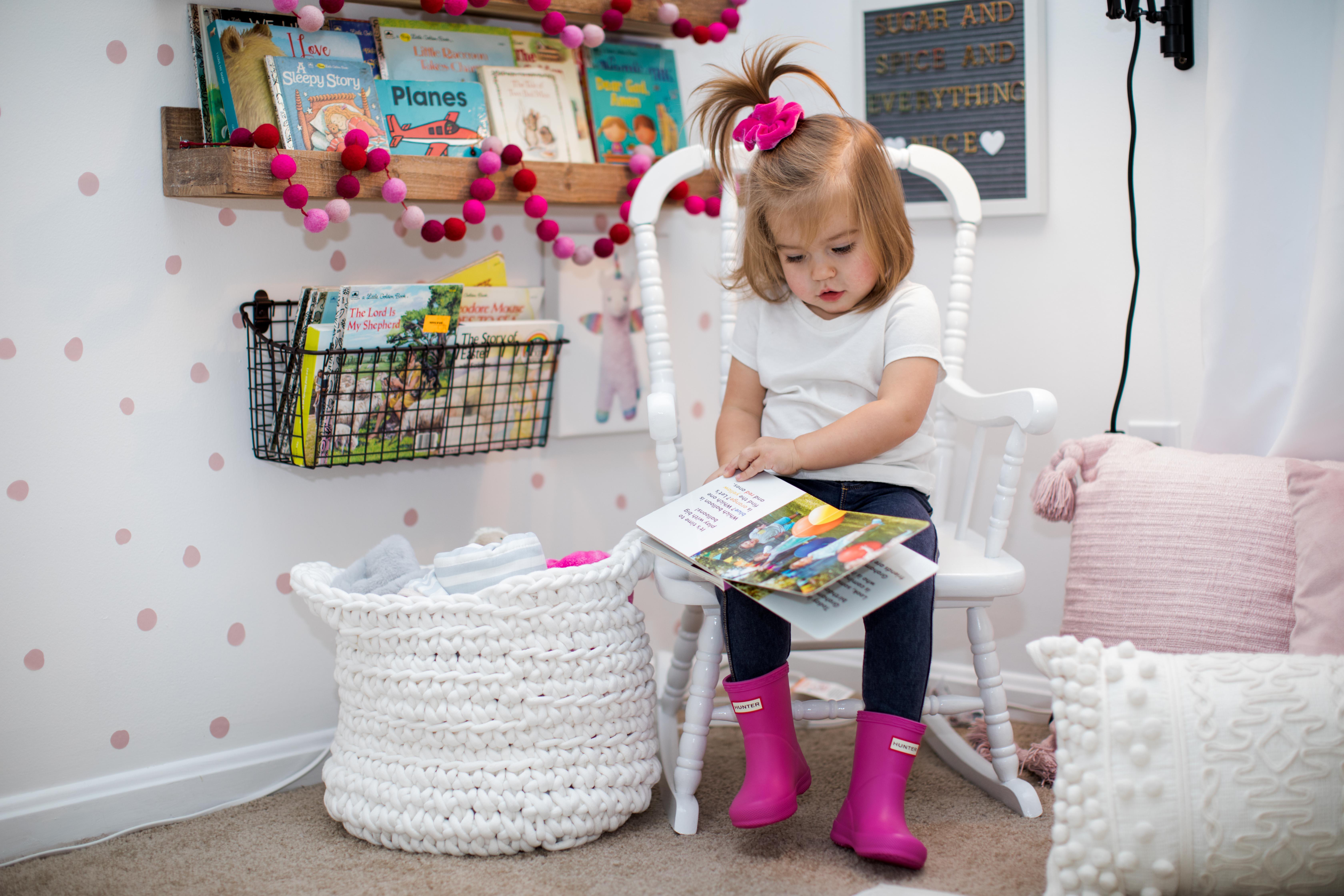 Townhouse Project: Nursery Book Nook DIY