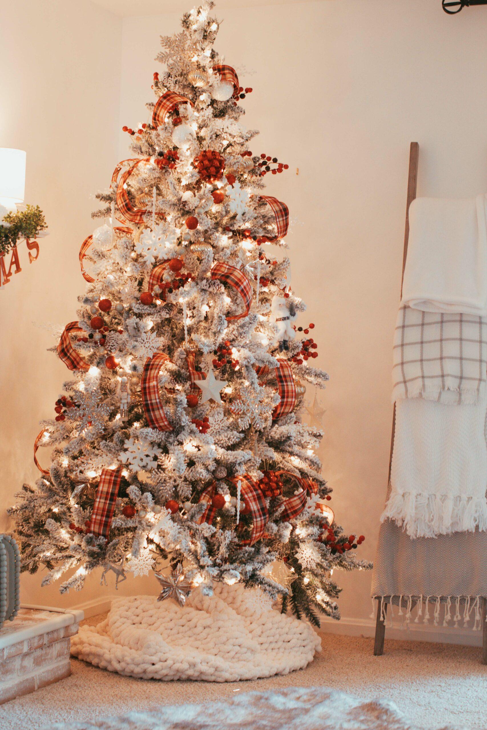DIY Hand Crochet Chunky Blanket | Budget Christmas Gift angela lanter hello gorgeous