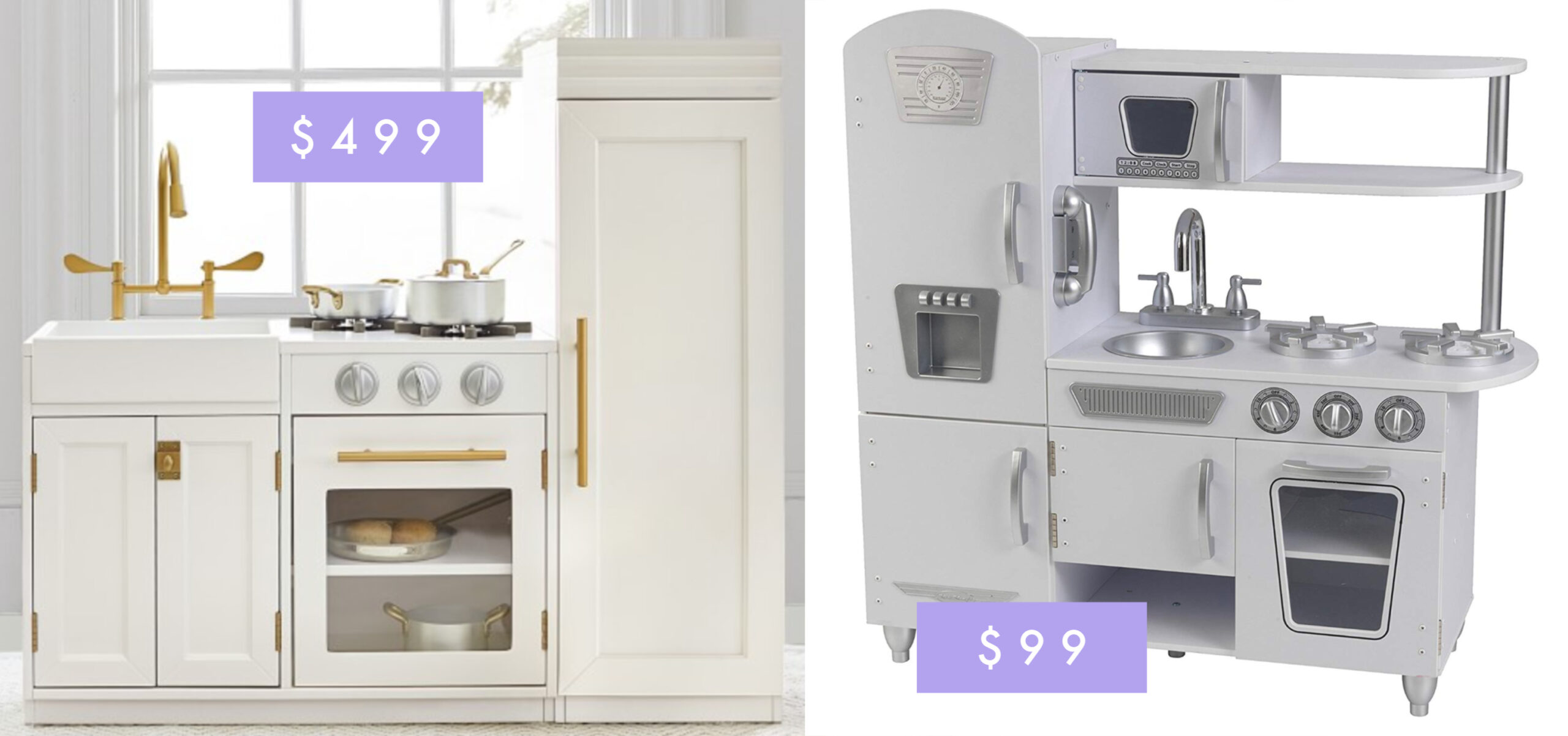 $99 Amazon Play Kitchen Review angela lanter hello gorgeous