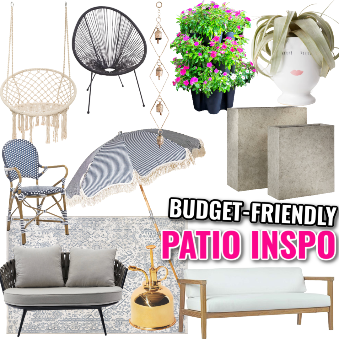 Patio Furniture and Decor Inspiration
